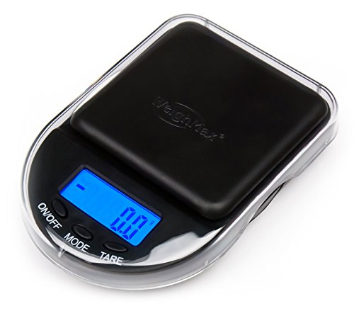 Weighmax Black Digital Coin/Jewelry Pocket Scale 0.1g