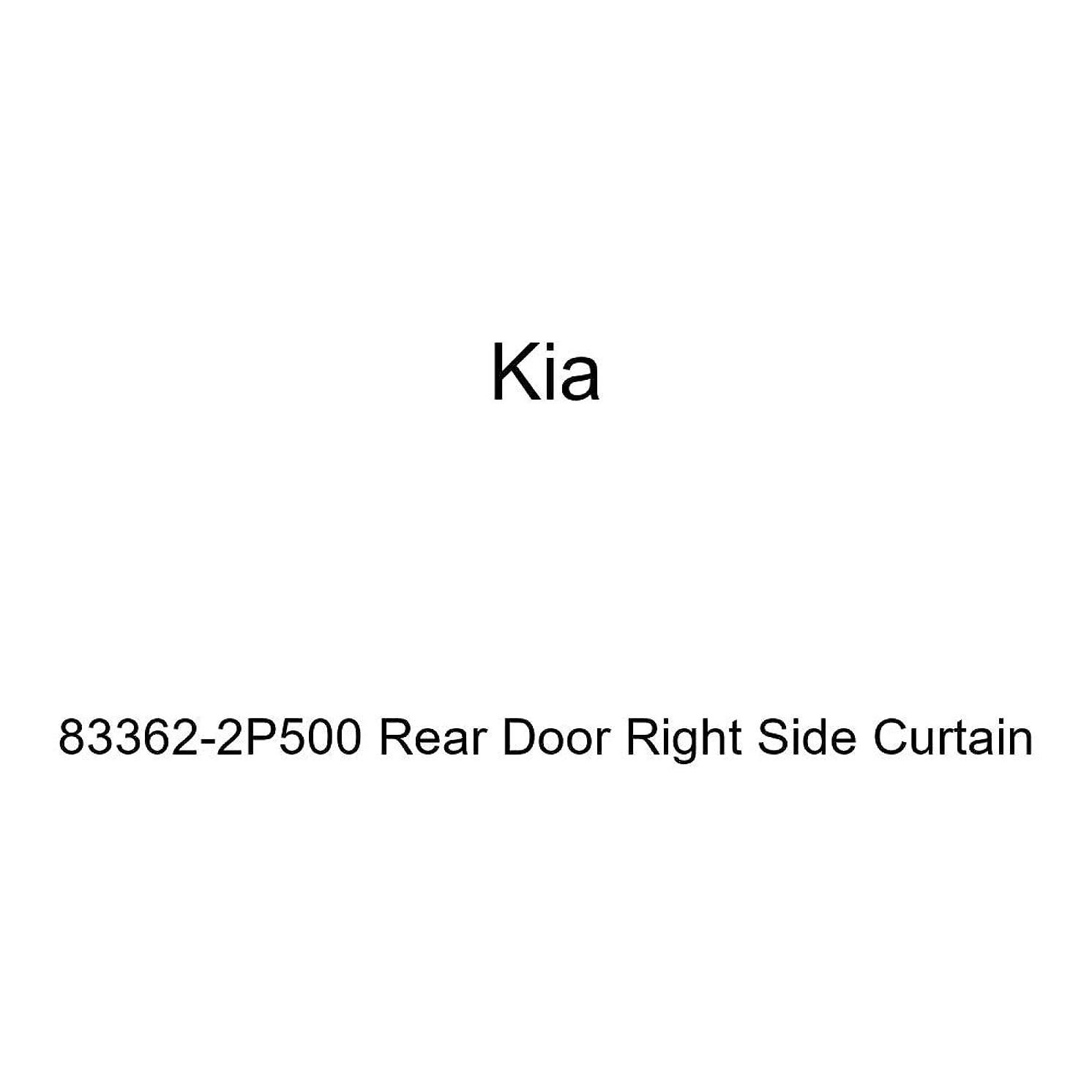 Genuine Kia 83362-2P500 Rear Door Right Side Curtain