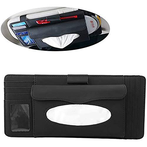 LTGJJ Car Visor Organizer, CD-houder voor auto met meerdere gebruikstijden, opslagbox, CD, Three-in-One vrachtwagen, SUV-opname en zekering Storage Bag
