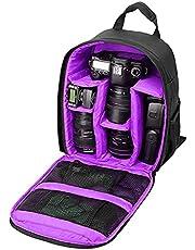 Funda Camara Reflex,Mochila Cámara Reflex Impermeable,Resistente Bolso Bandolera para Cámara DSLR a los Golpes,Bolsa Protectora para cámara de fotos, compatible