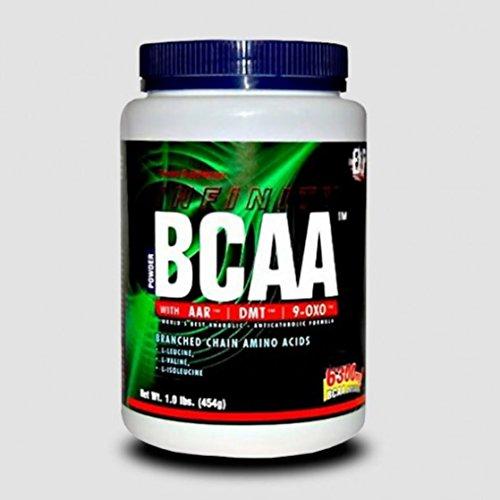 EXP BCAA 2:1:1 Pulver (AAR-DMT-9OXO)   Aminosäuren ( Leucin, Isoleucin, Valin,) Hochdosiert, Für Muskelaufbau, Abnehmen & Sport   Strong Anabol + Antikatabol, 454g = 43 Portionen - FRUIT