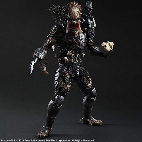 Predator NECA Figuras Berserker Alien Hunter en Blister con Ca/ñ/ón 14cm Multicolor