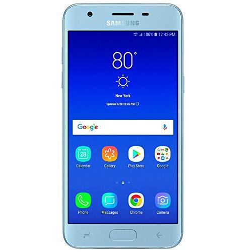 Samsung Galaxy J3 2018 (16GB) 5.0' HD Display, Android 8.0, 4G LTE Smartphone SM-J337 (Silver, Verizon Locked)