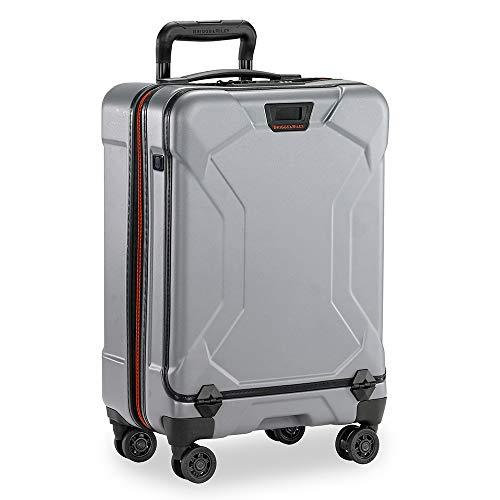 Briggs & Riley Torq Hardside Luggage, Granite, Carry-On 22-Inch