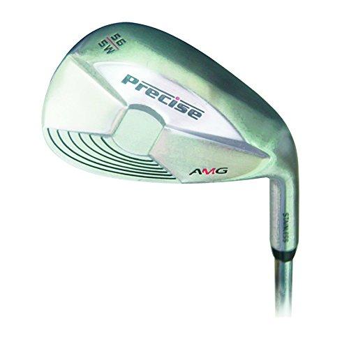 Precieze links AMG 60-graden-Wedge, golfclub zilver