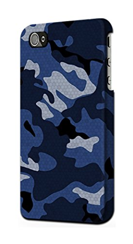 R2959 Navy Blue Camo Camouflage Case Cover for iPhone 5C