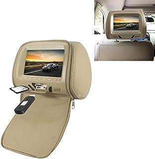 ZJJUN Electronics Video Audio Car 1080P HD Headrest Screen Display MP5 Player Support USB/SD Playback/FM Transmission with...
