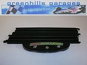 MT161 Greenhills Micro Scalextric Short Straight Black 15cm ML12889 Used