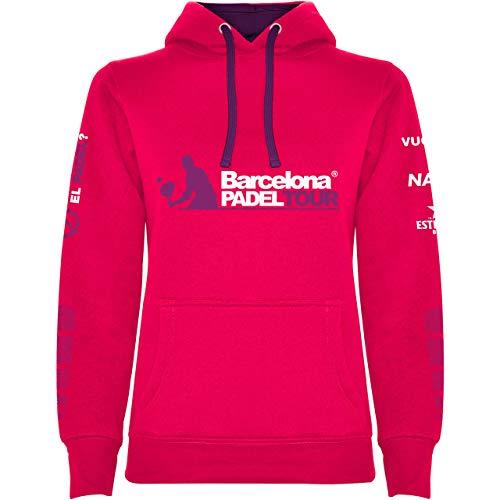 Barcelona Padel Tour Sudadera Mujer Rosa Fucsia S