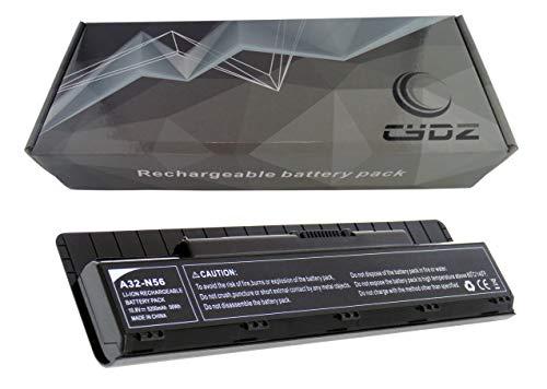 Reemplazo Batería portátil ASUS 10,8V 5200mAh A32-N56 ASUS N46 N56 N76 Serie batería para portátil ASUS R401B R501VB R701VB Serie ASUS G56JK/G56JR Serie PC batería ASUS