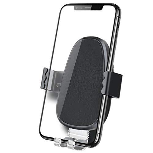 KUANDARM QI Cargador Inalámbrico Coche Fast Wireless Qi Cargador Rápido de Coche con Rejillas del Aire 7.5W para iPhone, 10W Galaxy Note 9/S9/S9+/Note 8, 5W Qi-Enabled. rápido, Black