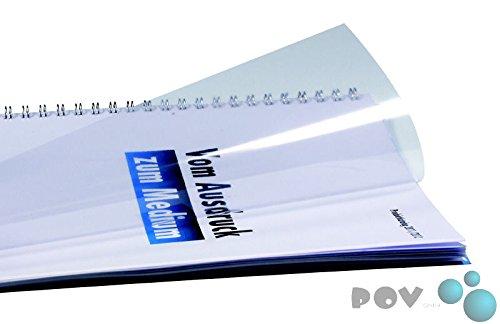 POV® Abdeckklarsichtfolie DIN A4, PVC, transparent klar, 0,30 mm stark, premi...