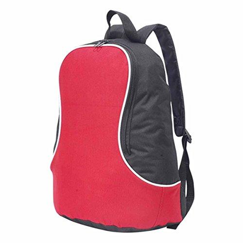 Shugon: FUJI Basic Back Pack Fuji 1202, Red/Black, One Size
