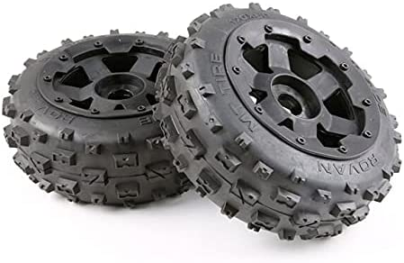 LSB-SHOWER Tyres and Wheel Hub shop Set for 1 RC Car 5 5B Free Shipping New Baja Hpi Km