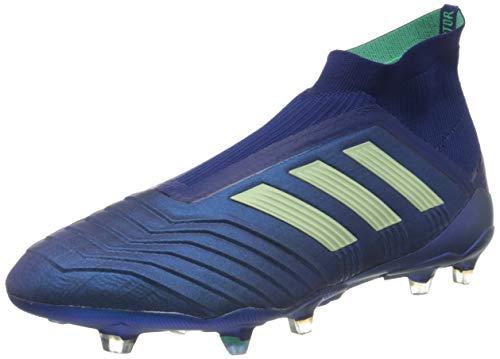 adidas Herren Predator 18+ 360Control FG Fußballschuhe, Blau (Unity Ink/aero Green/hi-Res Green Ink/Green/Green), 42 2/3 EU