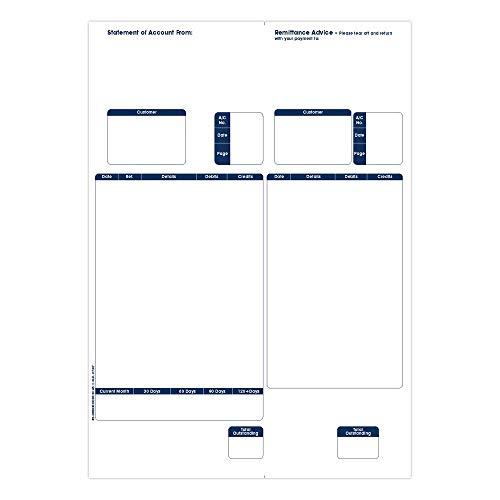 Sage 1 Partie compatible Déclaration/Bancaires Conseils (Pack de 500)