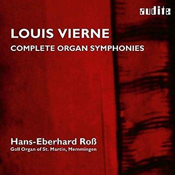Louis Vierne: Organ Symphonies, Op. 14 & Op. 20 (Complete Organ Symphonies • Vol. 1 , Hans-Eberhard Roß, Goll Organ of St. Martin, Memmingen)