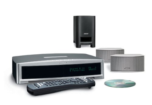 Bose 3.2.1. GSX Digital Home Entertainment Heimkino-System Silber