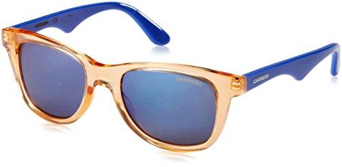 Carrera Junior CARRERINO 10 XT DDW Gafas de sol, Azul (Transp. Orange Blue/Bluette Sky Mirror), 46 Unisex-Niño