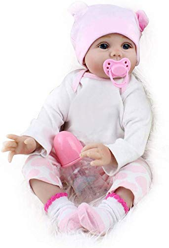 CHAREX Reborn Baby Dolls, 16 Inches Lifelike Soft Vinly Baby Doll Girl, Best Gift for Kids Ages 3+