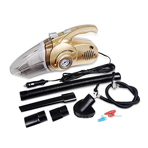 Yukiko Portable 4 in 1 Car Vacuum Cleaner Handheld Car Inflatable Pump Air Compressor