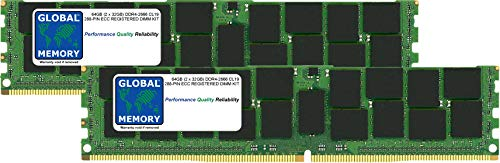 64GB (2 x 32GB) DDR4 2666MHz PC4-21300 288-PIN ECC REGISTERED DIMM (RDIMM) MEMORY RAM KIT FOR MAC PRO (2019)