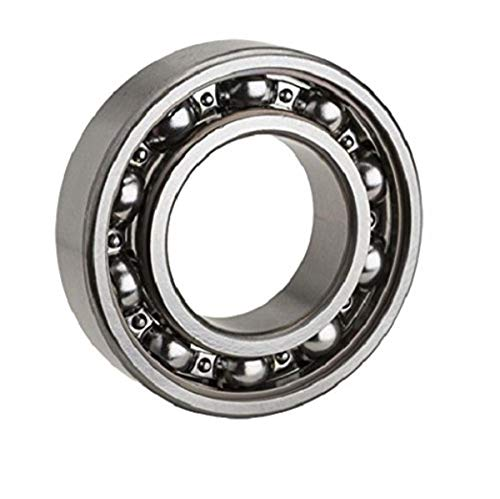 NTN Bearing 6222C3 Single Row Deep Groove Radial Ball Bearing, C3 Clearance, Steel Cage, 110 mm Bore ID, 200 mm OD, 38 mm Width, Open