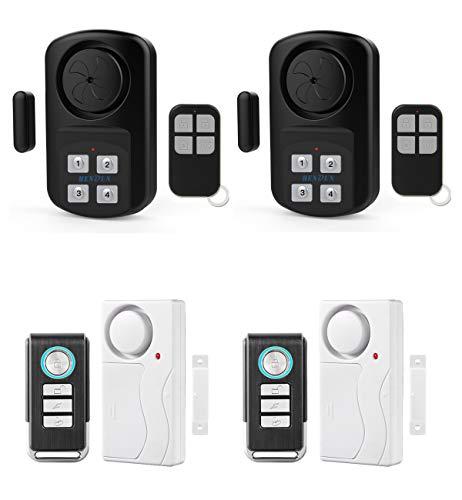 Hendun Bundle of Wireless Door Alarm with Remote, Pool Door Alarm for Kids Safety