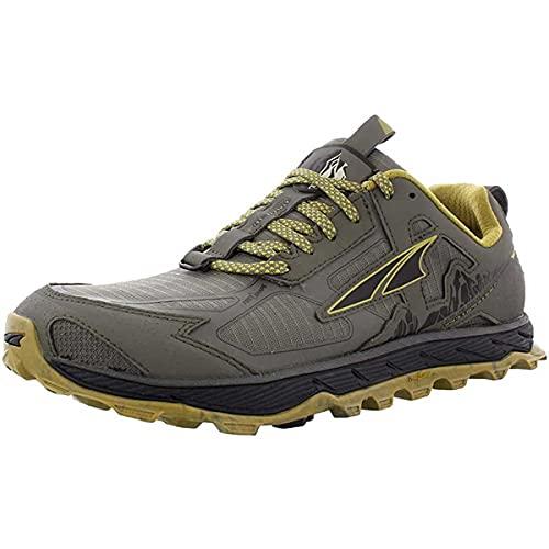 ALTRA Men's AL0A4PE5 Lone Peak 4.5 Trail Running Shoe Sneakers, Olive/Willow, 9