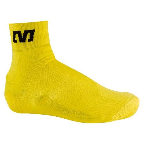 Mavic Knit Shoe Cover - jaune Vêtements Vélo Homme jaune Taille L