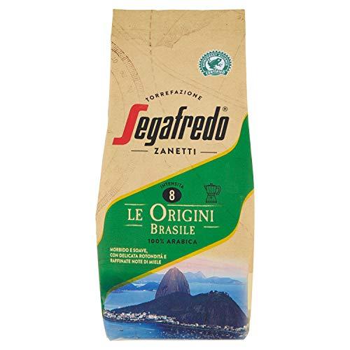 Segafredo Zanetti Caffè Macinato Le Origini Brasile, 200g