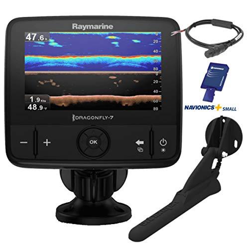 Raymarine e70320-ceur Dragonfly 7Pro Sonar GPS (17,8cm (7pollici), DVS Chirp Down Vision, CPT integrata, European Essentials scheda)