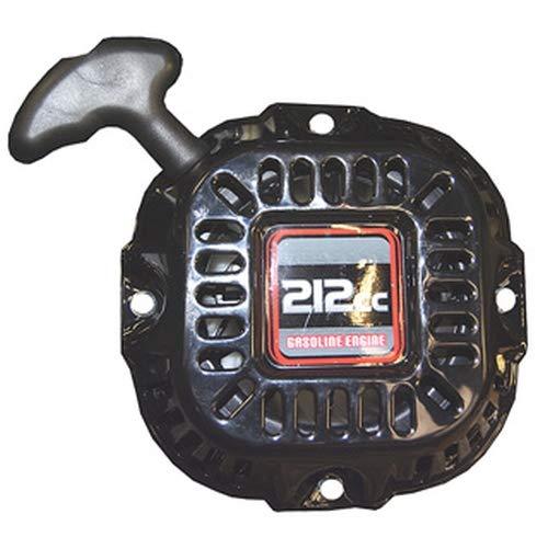 ATIKA Ersatzteil | Seilzugstarter Loncin Benzinmotor für Holzspalter ASP 11 N/Gartenhäcksler GHB 760 (A) / Bodenhacke MHB 80