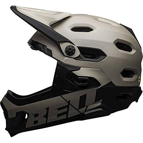 BELL Super DH, Casco Unisex, Matte/Gloss Sand/Black, Medium