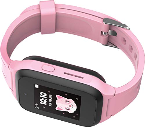 TCL Kinder Smartwatch MT40X MOVETIME, GPS, Kamera und Notruftaste, Pink