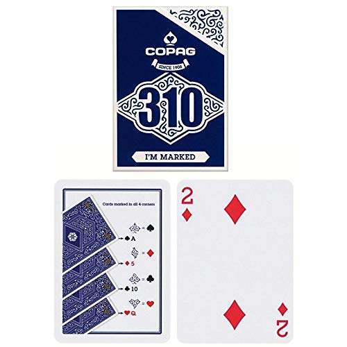 Copag 22541011 310-I'm Marked (markierte Trickkarten) -Slimline