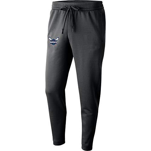 CYHW Hosen Der Männer NBA Charlotte Hornets Sporttraining Hosen-beiläufige Außen Lose Sports Hosen S-3XL Black-L