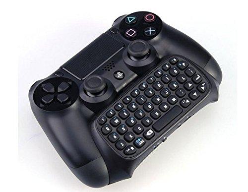 GAMINGER Teclado Bluetooth QWERTY para Control Dualshock de PlayStation 4 Ps4 - Mini Bluetooth para Chat
