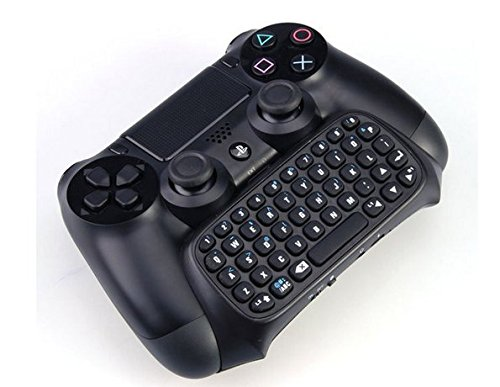GAMINGER Teclado Bluetooth QWERTY para Control Dualshock de PlayStation 4 Ps4 - Mini Bluetooth para Chat: Amazon.es: Videojuegos