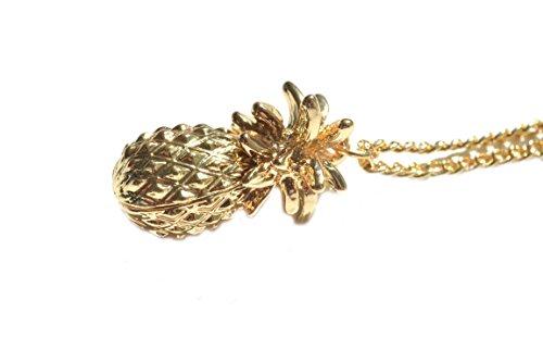 Damenkette Goldkette Ananas