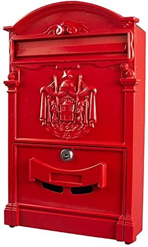 buzones de correos exterior Hoja Galvanizada De La Caja De Poste De...