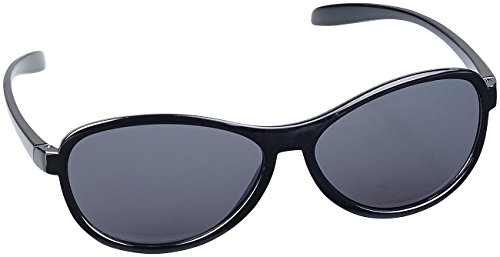PEARL Sonnenbrille Damen: Kontrast-verstärkende Sonnenbrille, dunkle Gläser, polarisiert, UV 380 (Polbrille)