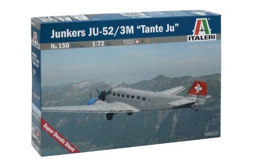 Price comparison product image Italeri 0150S Junker Ju 52 Lufthansa
