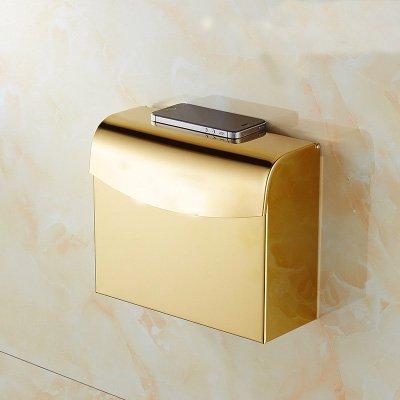 MangeooWc-Papier Handtuch box, Handy Toilettenpapier, wasserdichte Vergoldet, Europäische antike Toilettenpapier, Badezimmer