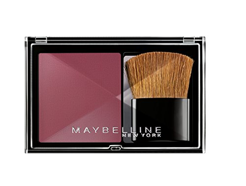 Maybelline New York Expert Wear Blush Rouge Flash Plum / Pflaumenfarbenes Rouge-Puder, Make-Up für einen frischen Teint mit leichtem Tragekomfort, inkl. Pinsel, 1 x 5,2 g