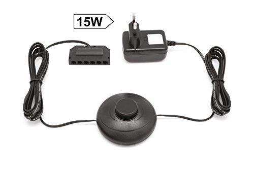 Preisvergleich Produktbild LED Transformator Driver Trafo Treiber 15 Watt / passt für unsere 12 Volt LED-Systeme