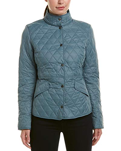Barbour Women's Annis Quilt Jacket, Eucalyptus, 14/10US Green