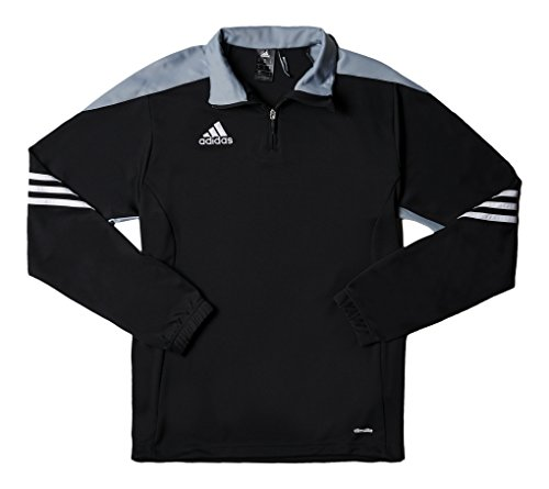 adidas Sweatshirts Fußball bekleidung Sere14 Trainings Top Trainingstop, Black/Silver/White, XS