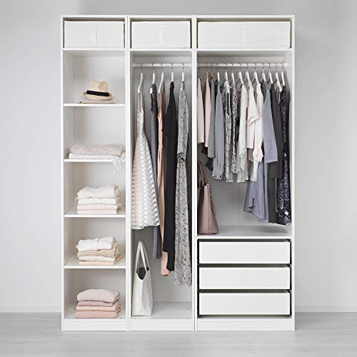 PAX szafa na ubrania 175 x 58 x 236,4 cm biała