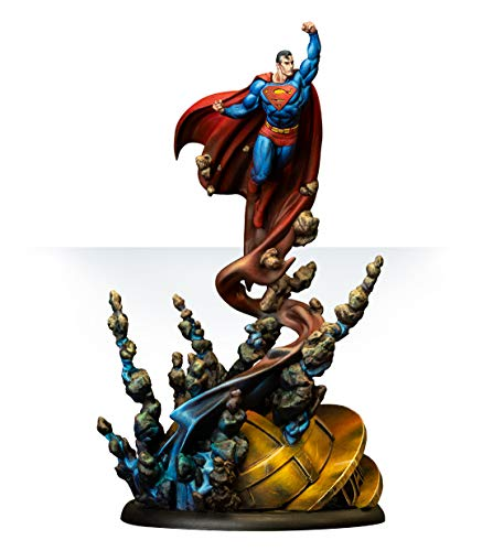 Knight Models Juego de Mesa - Miniaturas Resina DC Comics Superheroe - Superman (2019 Super Sculpt)